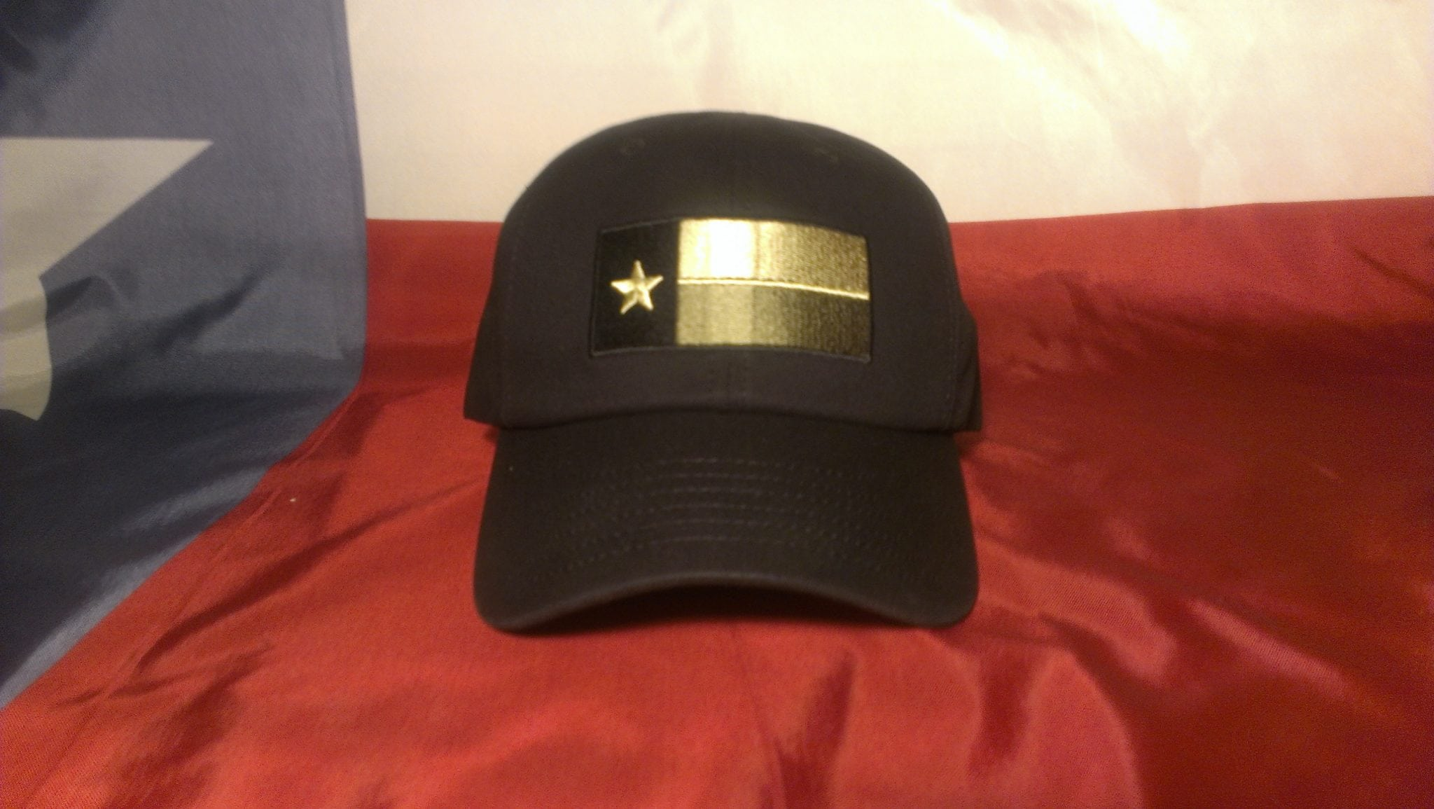 Black Texas Tactical Hats