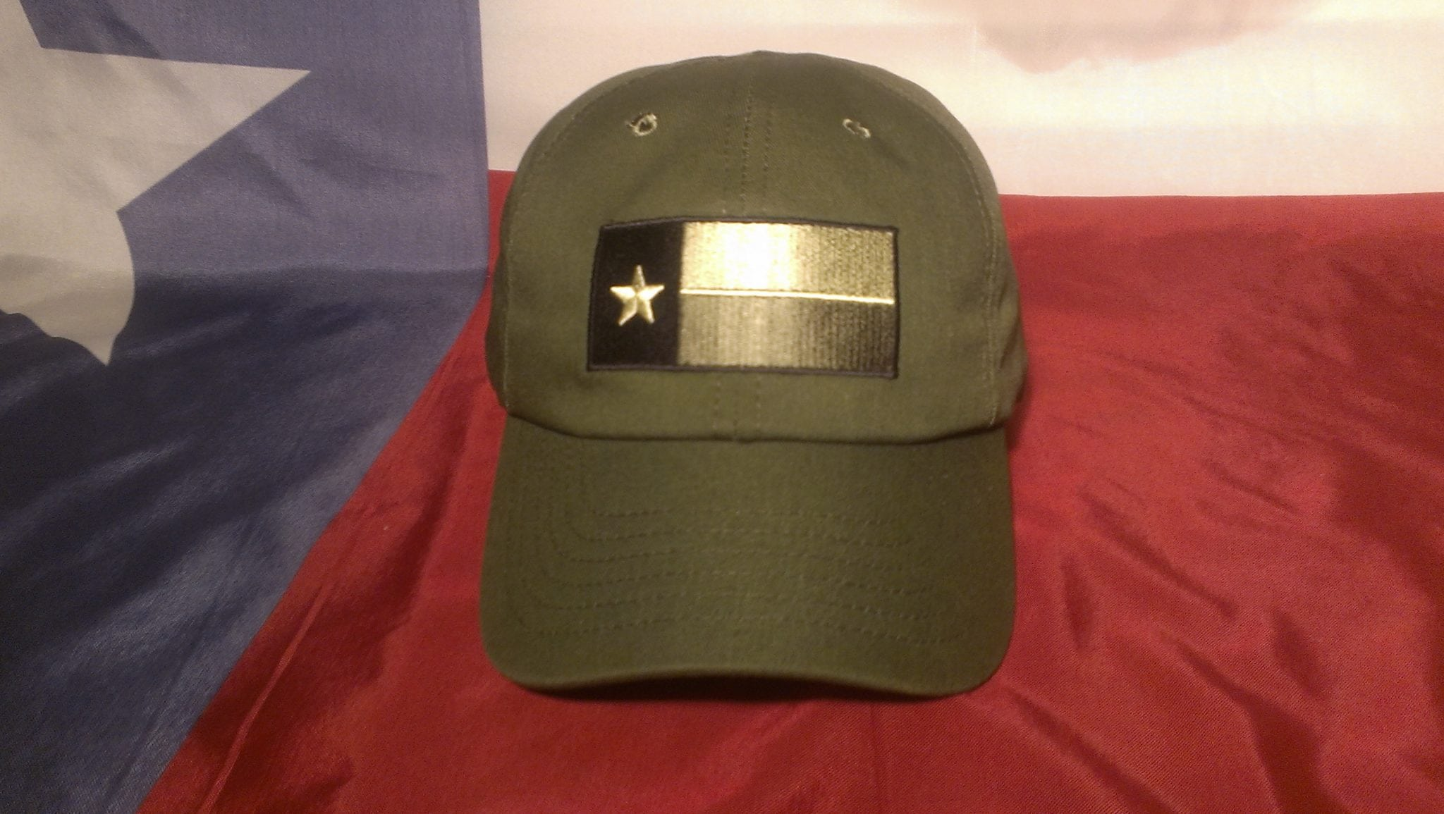 The OD Texas Tactical Hat 5a9eb597b48